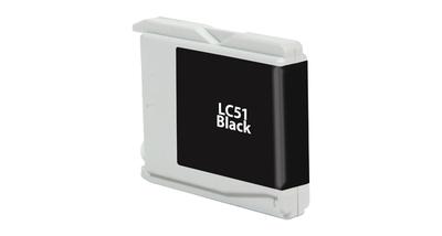 Brother LC51BK ---BLACK (Item#472)... (INK REFILL)
